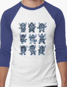 Alien Rockstar Men's Baseball ¾ T-Shirt