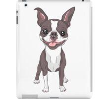Smiling dog Boston Terrier  iPad Case/Skin