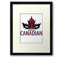 Canadian Anti-Hero Framed Print