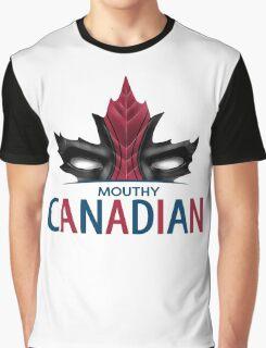 Canadian Anti-Hero Graphic T-Shirt