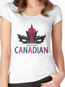 Canadian Anti-Hero Women's Fitted Scoop T-Shirt