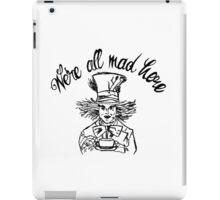Hatter iPad Case/Skin