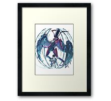 UNchained Fate Framed Print