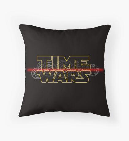 Time Wars  Throw Pillow