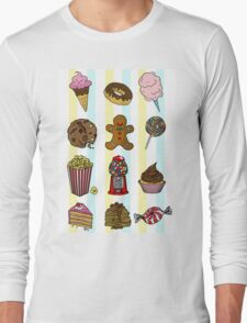 Candy/sweets pattern Long Sleeve T-Shirt