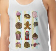 Candy/sweets pattern Tank Top
