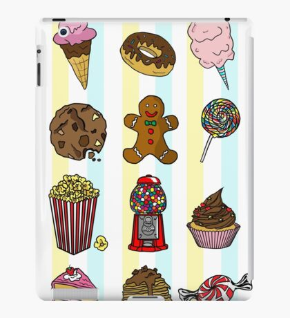 Candy/sweets pattern iPad Case/Skin