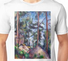 1897 - Paul Cezanne - Pines and Rocks Unisex T-Shirt