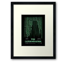 THE EXTERMINATRIX Framed Print