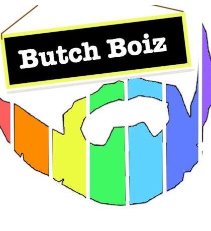 Butch Boiz Merchandise  Sticker