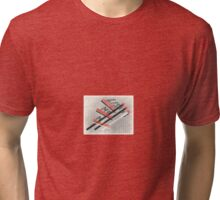 Lissitzky, Mondrian and Man Ray Tri-blend T-Shirt