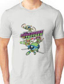Powerpuff Girls and Teenage Mutant Ninja Turtles Unisex T-Shirt