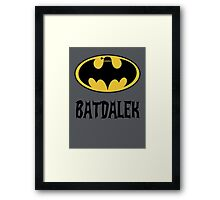 BAT-DALEK Framed Print