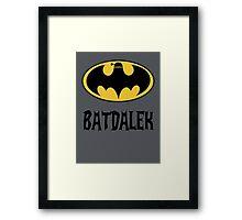 BAT-DALEK Framed Print