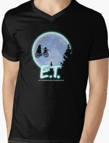 Exterminating Terrestrials Mens V-Neck T-Shirt