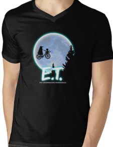 Exterminating Terrestrials Mens V-Neck T-Shirt