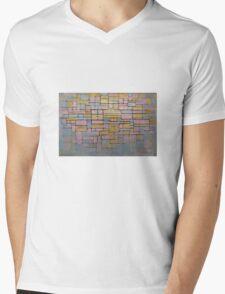 Piet Mondrian Mens V-Neck T-Shirt