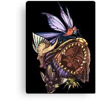 Monster Hunter Monster Mash Design Canvas Print