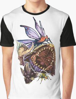 Monster Hunter Monster Mash Design Graphic T-Shirt
