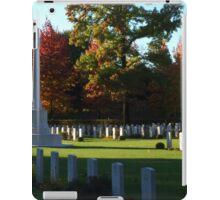 Autumn Cemetery iPad Case/Skin