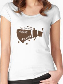 Anatomy of a Dalek Women's Fitted Scoop T-Shirt