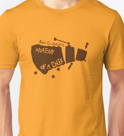 Anatomy of a Dalek Unisex T-Shirt