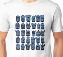 Wee Helmeted Blue Folk Unisex T-Shirt