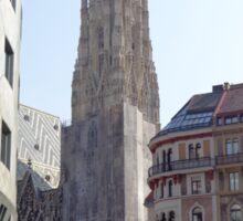 St. Stephen's Plaza, Vienna, Austria Sticker