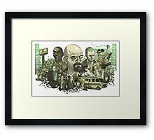 Breaking Bad Periodic Table Framed Print