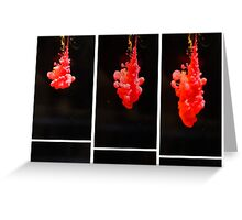 Diving Lights Greeting Card