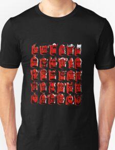 Wee Helmeted Red Folk Unisex T-Shirt
