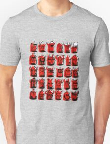 Wee Helmeted Red Folk Unisex T-Shirt