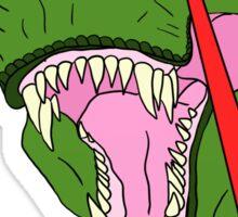 Allosaurus Laser Eyes Sticker