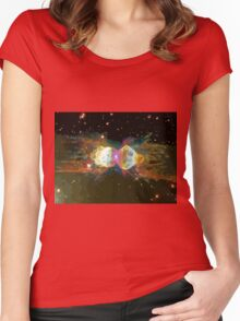 Cosmological BAM ! Women's Fitted Scoop T-Shirt
