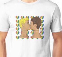 Sweethearts Gay Kiss! Unisex T-Shirt