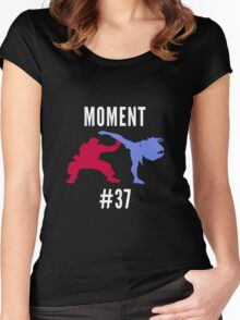 Evo Moment #37 Women's Fitted Scoop T-Shirt