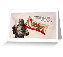 """Welcome to the Wasteland"" - Fallout Greeting Card"
