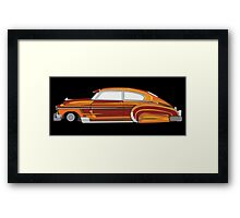 Classic Lowrider Framed Print
