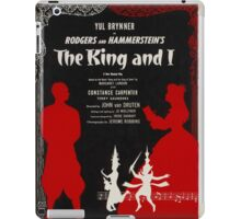 Reproduction Broadway musical poster The King and I iPad Case/Skin