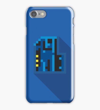 Doom Key: Blue iPhone Case/Skin