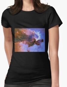 Deep Space Womens Fitted T-Shirt