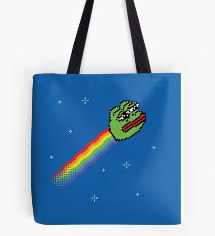 Nyan Pepe Meme Mash Up Tote Bag
