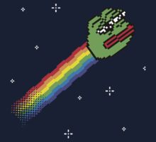 Nyan Pepe Meme Mash Up One Piece - Short Sleeve