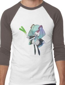 Hatsune Kirlia Men's Baseball ¾ T-Shirt