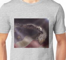 On Eagles Wings Unisex T-Shirt