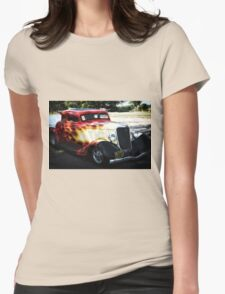 Classic Car Womens Fitted T-Shirt
