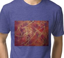 Ribbons of Gold Tri-blend T-Shirt