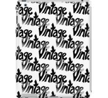 Vintage iPad Case/Skin