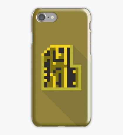 Doom Key: Yellow iPhone Case/Skin