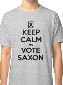 Vote Saxon - White Classic T-Shirt